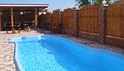 Кирилівка база відпочинку з басейном Акелла