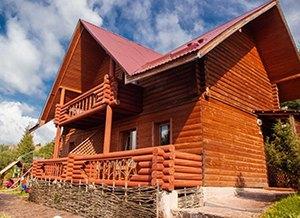 Відпочинок в Прикарпатті взимку, база відпочинку «Бойківський двір», Ясениця-Замкова (Розлуч)