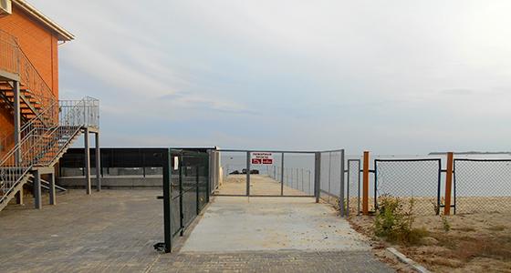Чорноморка база відпочинку «Морський прибій» море і пляж