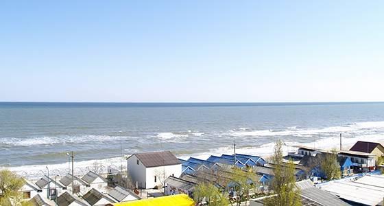 Затока «Оболонь» вид на пляж фото