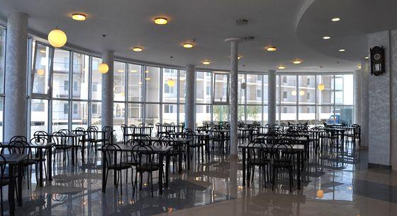 База відпочинку «Парадіз», обідня зала