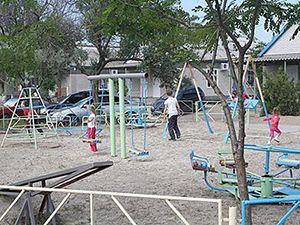 Отдых в Приморском Килийского района база отдыха «Ветерок» территория