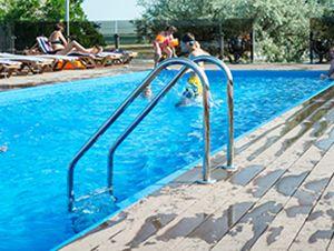 Приморское база «Ветерок» фото бассейна