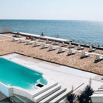 Отдых на Черном море с бассейном, база отдыха «Гавань-люкс»