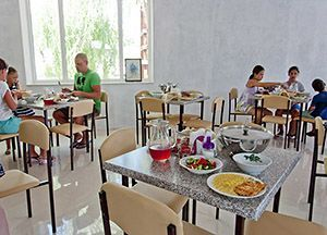 База відпочинку на Чорному морі з харчуванням