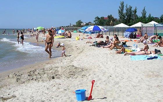Пляжі Білосарайської коси