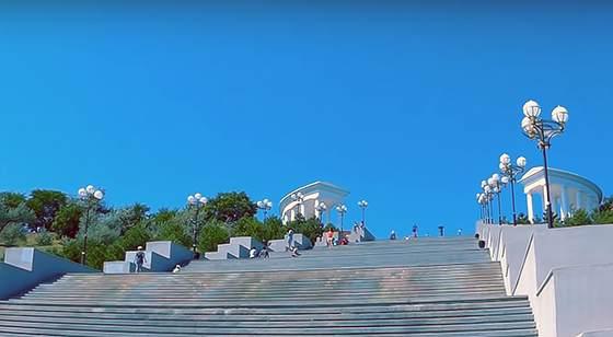 Чорноморськ сходи