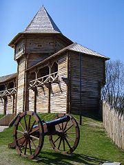 Батуринська фортеця, гармата