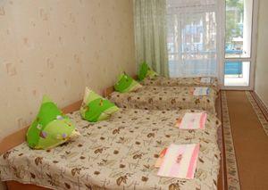 Дитячий табір «Червона гвоздика», Бердянськ, спальня