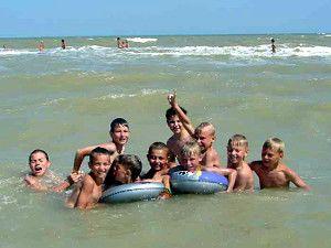 Відпочинок для дітей на морі