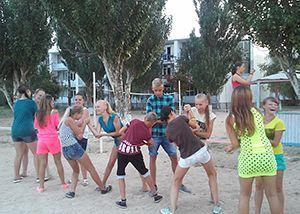 Дитячий табір в Счастлівцево