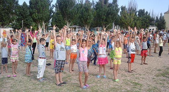 Азовське море дитячі табори
