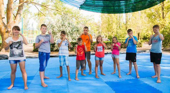 Азовське море табору для дітей