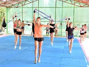 Детский лагерь для спортсменов