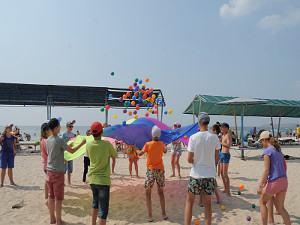 Спортивний табір на Чорному морі