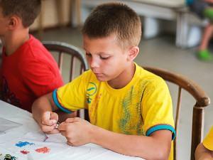 Дитячий табір в Рибаківці