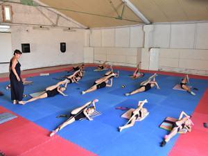 Лагерь для спортсменов