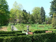 Палац Шенборнів, парк