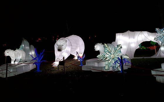 Київ інсталяції фестивалю гігантських китайських ліхтарів фото