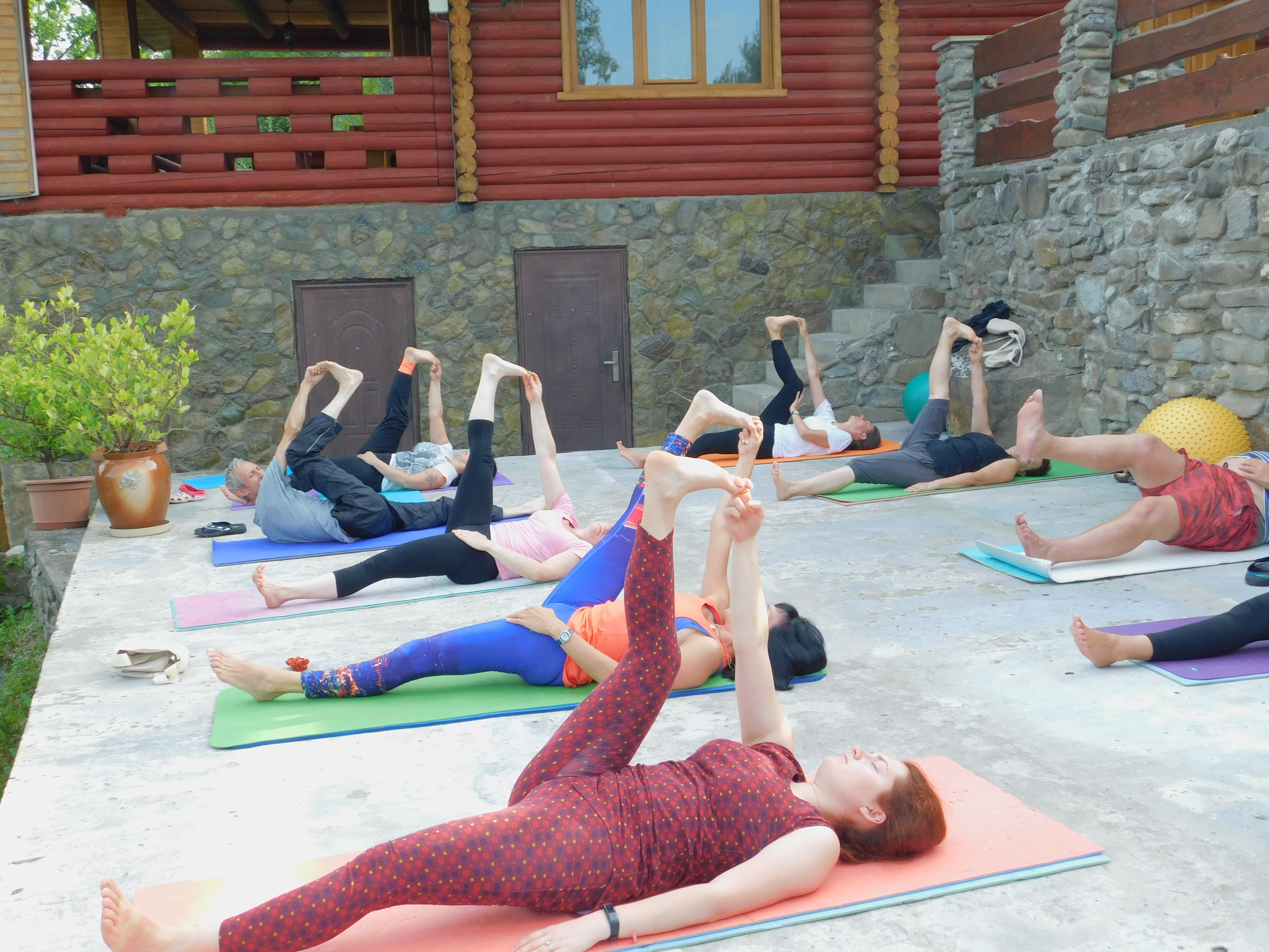Йога в алекс фитнес самара