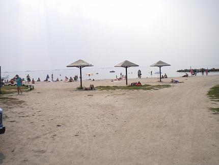 Пляж в Бердянську район Слобідки