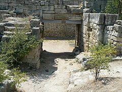 Херсонес, ворота