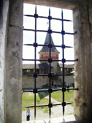 Кам'янець-Подільська фортеця, вид із вікна
