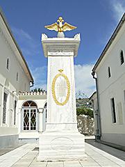 Караїмські кенаси, монумент Олександру I