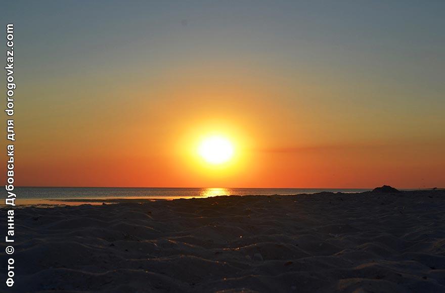 Пляжі Кінбурнської коси
