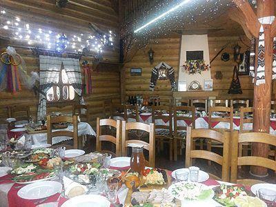 Ресторан-колыба в Миговому