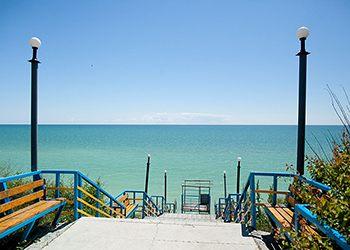 «Прибій» Кирилівка пляж