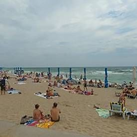 Чорноморськ пляж фото