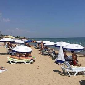 Пляжі на Чорному морі фото