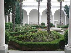 Лівадійський палац, Італійський дворик