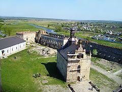 Меджибожский замок, реконструкция Меджибожской церкви
