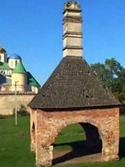 Межиріцький монастир, піч