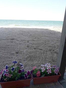 Кирилівка номери з видом на море