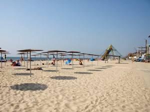 Затока пляж на станції Сонячна