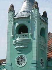 Мукачівська ратуша, куранти
