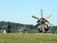 Музей народной архитектуры и быта Среднего Приднепровья в Переяславе-Хмельницком, ветряные мельницы