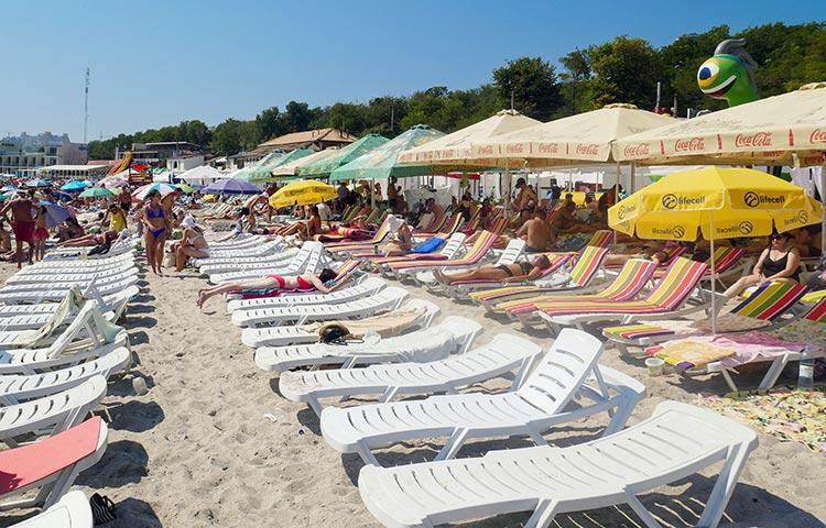 Одеса пляж Ланжерон
