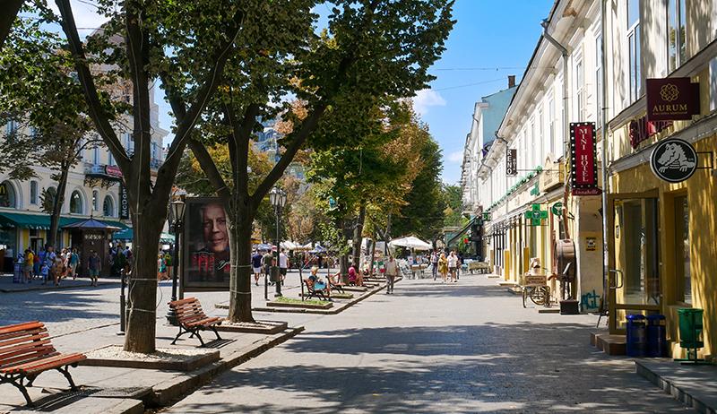 Відпочинок в Одесі - готелі на Дерибасівській