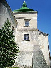 Олеський замок, контрфорси