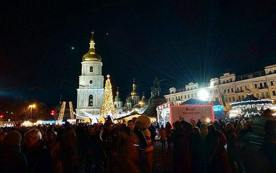 Новий рік і Різдво в Києві та Київській області
