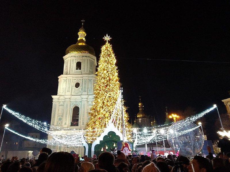 Київ новорічна ялинка