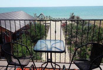 Відпочинок на Азовському морі готелі