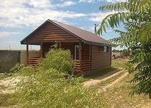 Гостиница на Азовском море
