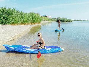 Готель Аквапарк Затока пляж