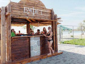 Готель Аквапарк Затока пляж на лимані