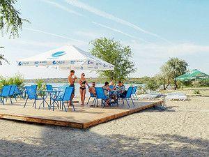 Затока аквапарк готель пляж фото